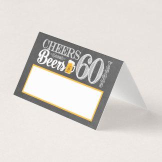 Alegrías y cervezas a 60 años de tarjeta del lugar