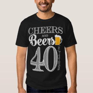 Alegrías y cervezas a los 40 años la camiseta de