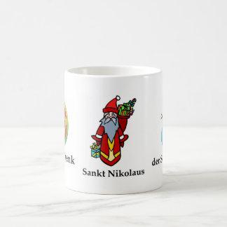 Alemán de la taza del navidad