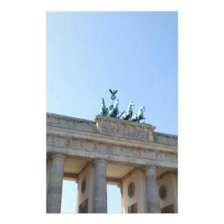 Alemania Berlín Puerta de Brandeburgo Flyer Personalizado