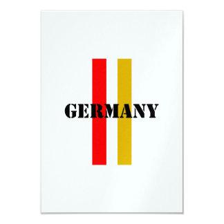 Alemania Invitación 8,9 X 12,7 Cm