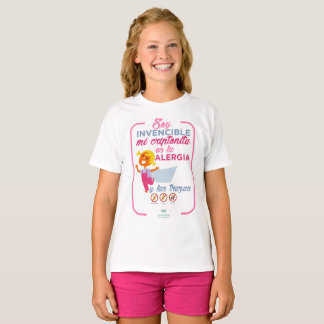 alergia soy invencible camiseta