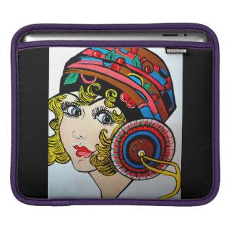 aleta con el gorra funda para iPads