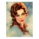 Aleta del vintage (24) tarjeta postal