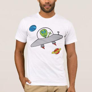 Alex el extranjero - la camiseta de los hombres