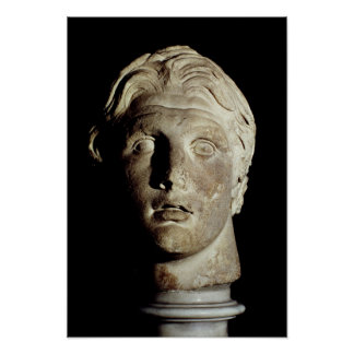 Alexander el grande, encontró en Pergamum Poster