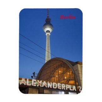 Alexanderplatz Imán Flexible