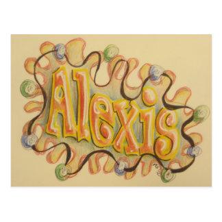 Alexis - tarjeta de presentación