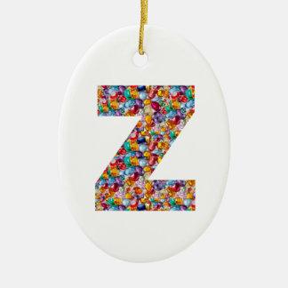 ALFA Z del zzz: Joyas únicas de los regalos, perla Adornos De Navidad