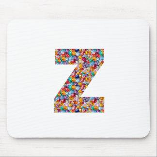 ALFA Z del zzz: Joyas únicas de los regalos, perla Alfombrillas De Ratón