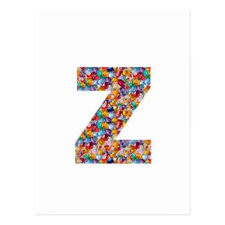 ALFA Z del zzz: Joyas únicas de los regalos, perla Postal