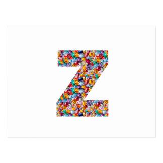 ALFA Z del zzz: Joyas únicas de los regalos, Postal