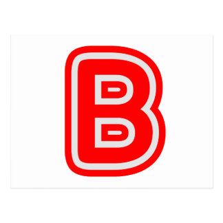 Alfabeto ALPHAB BBB Postal