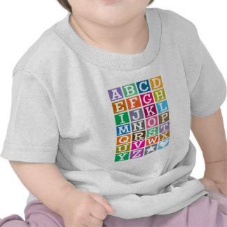 Alfabeto de ABC Camiseta
