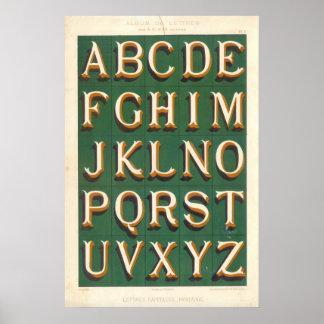Alfabeto (Mayúsculas imaginaciones) Póster