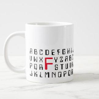 Alfabetos magnéticos - versión enorme de la taza