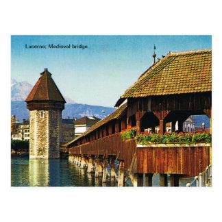 Alfalfa; Puente medieval Postal