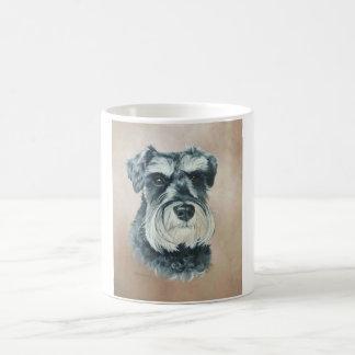 Alfie - schnauzer miniatura taza de café