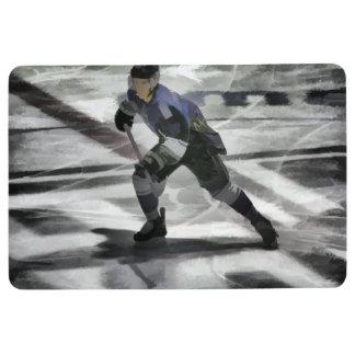 Alfombra Aliste para el jugador del hockey sobre hielo del