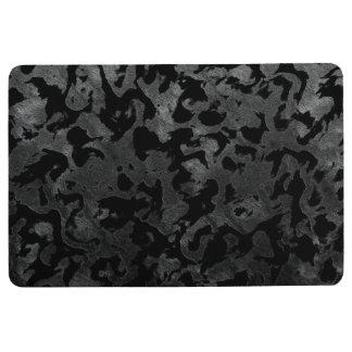 Alfombra Camuflaje gris negro y oscuro de Camo moderno -