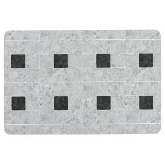 Alfombra Compañero de piedra elegante del piso