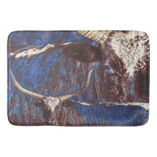 Alfombra de baño de los azules de Watusi