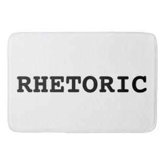 Alfombra de baño del retórico