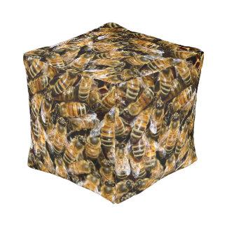 Alfombra de las abejas pouf