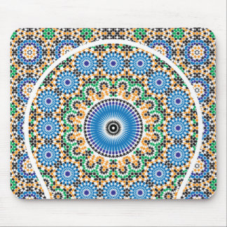Alfombra decorada en mosaico