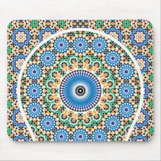 Alfombra decorada en mosaico alfombrilla de ratón