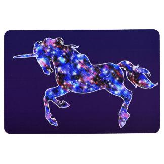 Alfombra Imagen estrellada del cielo del unicornio hermoso