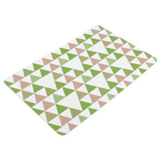 Alfombra Mosaico geométrico del árbol de la col rizada del