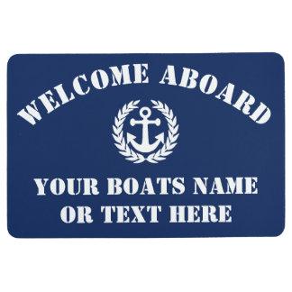 Alfombra Recepción a bordo del barco de navegación o del