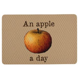 Alfombra Una manzana al día