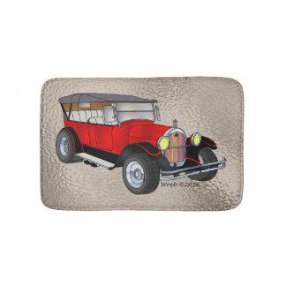 Alfombrilla De Baño 1923 Olds que viaja, rojo -