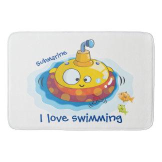 Alfombrilla De Baño Amo el nadar