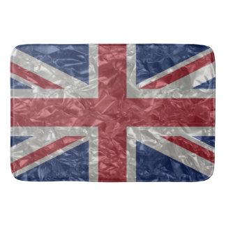 Alfombrilla De Baño Bandera de Union Jack - arrugada