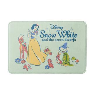 Alfombrilla De Baño Blanco como la nieve y narcotizado con los amigos