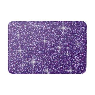 Alfombrilla De Baño Brillo iridiscente púrpura