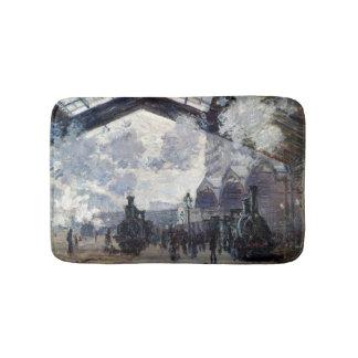 Alfombrilla De Baño CLAUDE MONET - el St. Lazare 1877 del gare