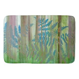 Alfombrilla De Baño Collage de los helechos y del bosque el | Seabeck,
