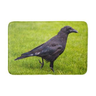 Alfombrilla De Baño Cuervo negro