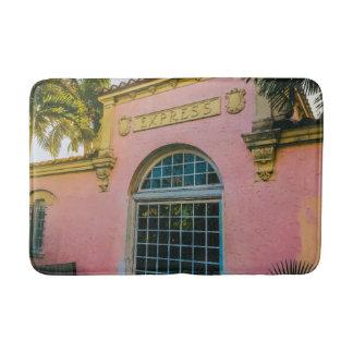 Alfombrilla De Baño Estación de tren tropical