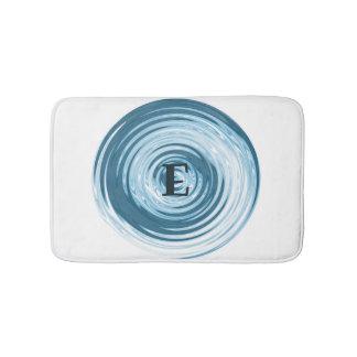 Alfombrilla De Baño Estera de baño adaptable del monograma de la