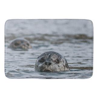 Alfombrilla De Baño Estera de baño adorable del sello de puerto