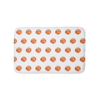 Alfombrilla De Baño Estera de baño anaranjada linda del modelo del