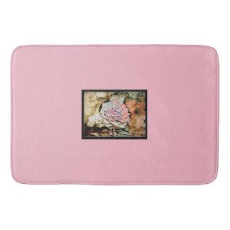 Alfombrilla De Baño Estera de baño color de rosa rosada