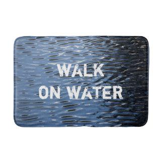 """Alfombrilla De Baño Estera de baño con el mensaje: """"Paseo en el agua """""""