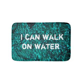 """Alfombrilla De Baño Estera de baño con el mensaje: """"Puedo caminar en"""