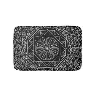 Alfombrilla De Baño Estera de baño de encargo de la geometría sagrada